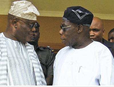2019: Atiku, Obasanjo currently in closed-door meeting