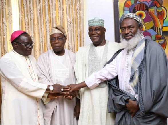 2019: First photos from Atiku and Obasanjo