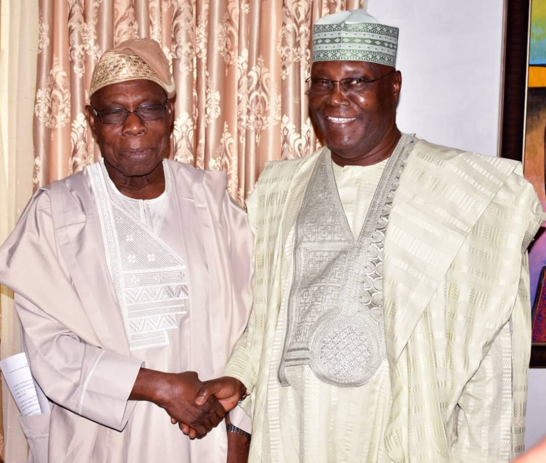 Six Things Obasanjo Said About Atiku Abubakar After the Closed Door Meeting Will Shock You