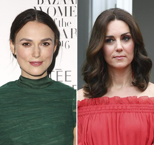 """Kate Middleton reportedly """"annoyed"""" by Keira Knightley"""
