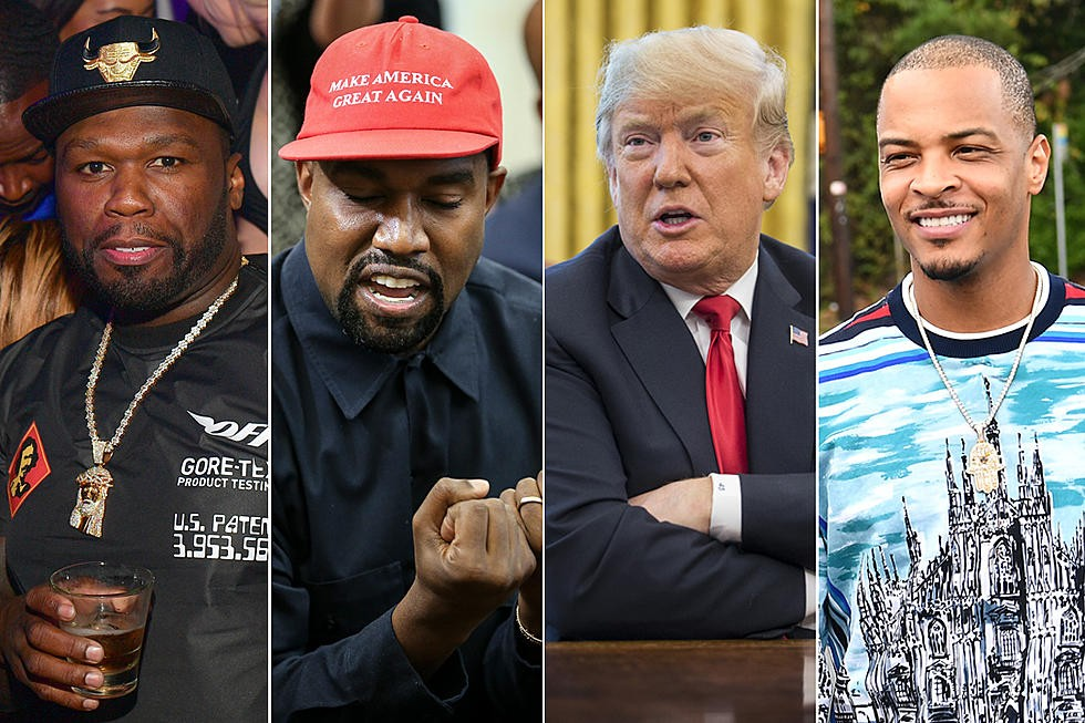 ?T.I, 50 Cent and more react to Kanye West