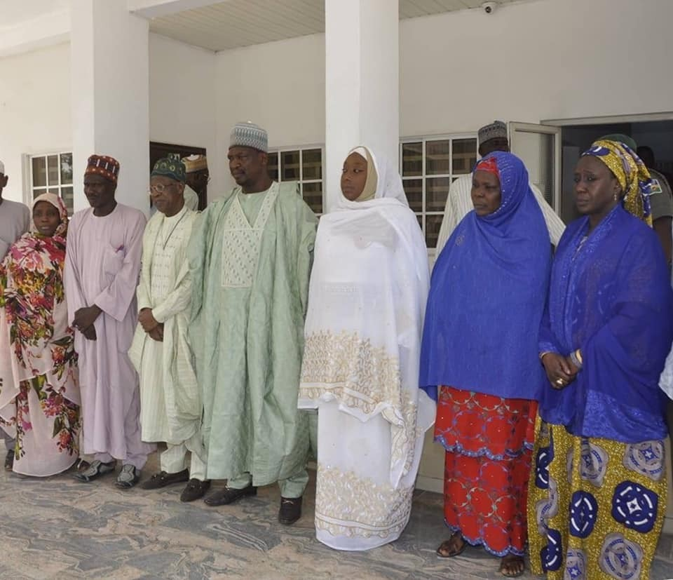 Photos: FG delegation visits Rebecca Sharibu, mother of Leah abducted by Boko Haram