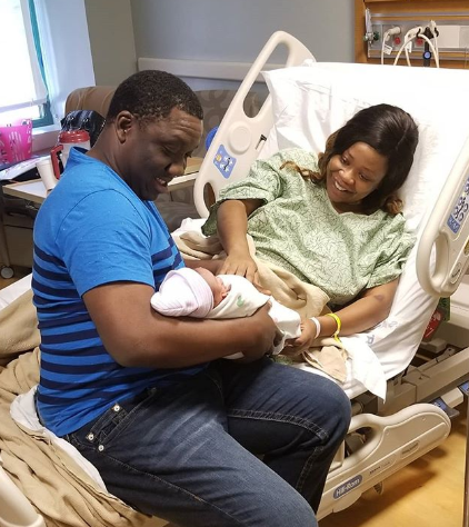 Nigerian couple welcomes son after 9 years of waiting