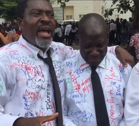 5-years after, veteran Nollywood actor, Kanayo. O. Kanayo bags a degree in law (Photos)
