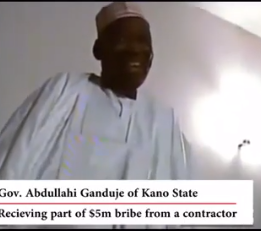 Days after threatening lawsuit, purported video of Kano state governor allegedly receiving bribe surfaces online