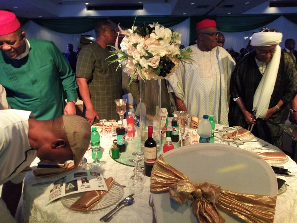 Dino Melaye, FFK, others attend Governor Fayose