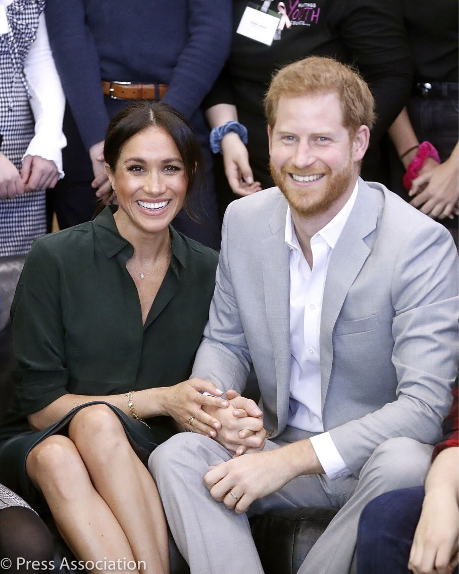 Wow! Meghan Markle, the Duchess of Sussex, is now pregnant!