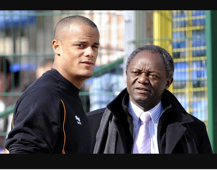Manchester City captain Vincent Kompany's father becomes the first black mayor in Belgium