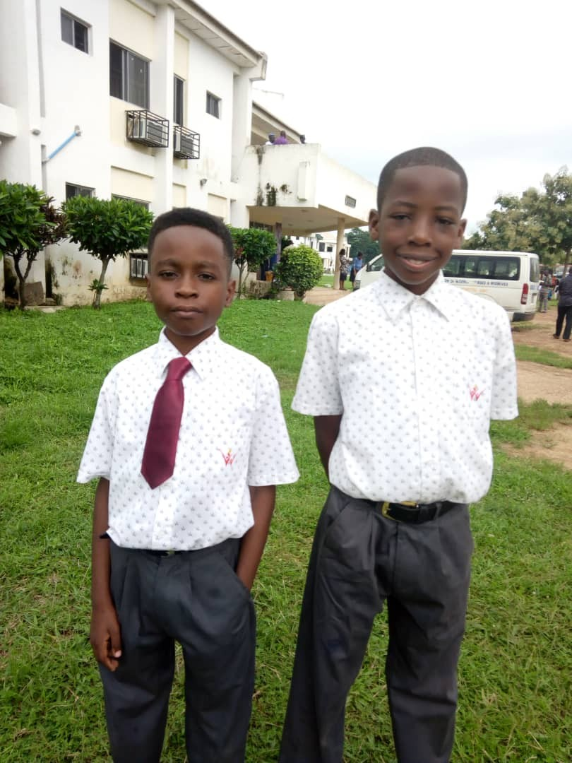 David Awe and Joshua Nwobodo of Pampers Private School Lekki Emerge Winners of the M.A.N (Mathematics Association of Nigeria) Mathematics Olympiad 2018