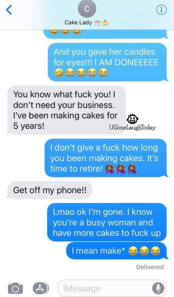 Customer goes off on cake maker after she demanded for a Minney Mouse cake but got something else