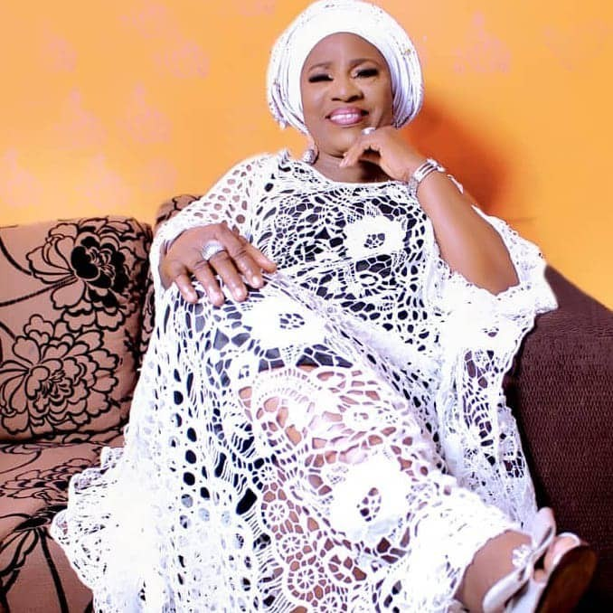 Veteran actress, Idowu Philips aka Iya Rainbow celebrates her 76th birthday with beautiful photos