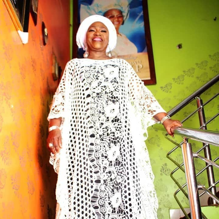 Veteran actress, Idowu Philips aka Iya Rainbow celebrates her 76th birthday with beautiful photos