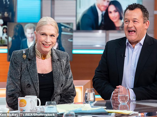 """Lady Colin Campbell calls Meghan Markle a """"narcissist"""" for """"cutting off"""" her father; Piers Morgan also accuses Meghan of cutting him off (video)"""