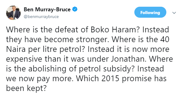 Boko Haram have become stronger than they were in 2015- Ben Bruce