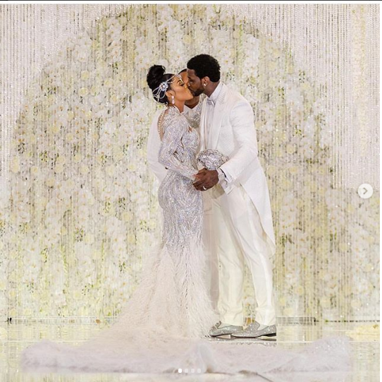 Rapper Gucci Mane and wife Keyshia Ka'oir celebrate their 1st wedding anniversary and 8-years of friendship