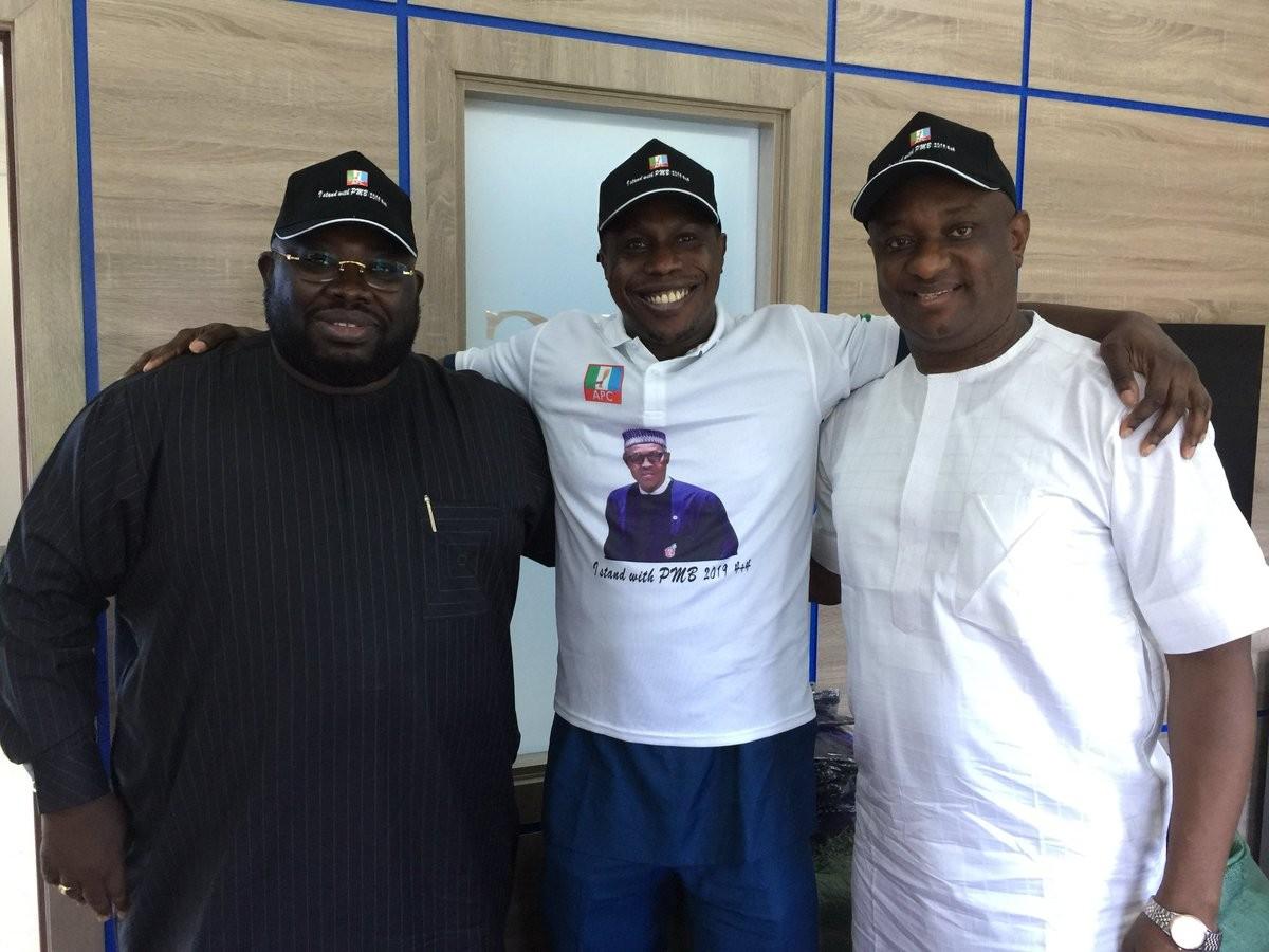 Obasanjo joins Buhari