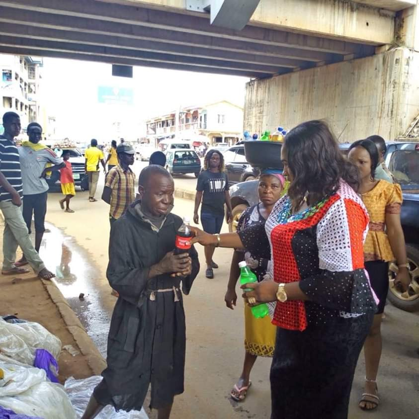 People with intellectual disabilities are evacuated from the streets of Anambra State