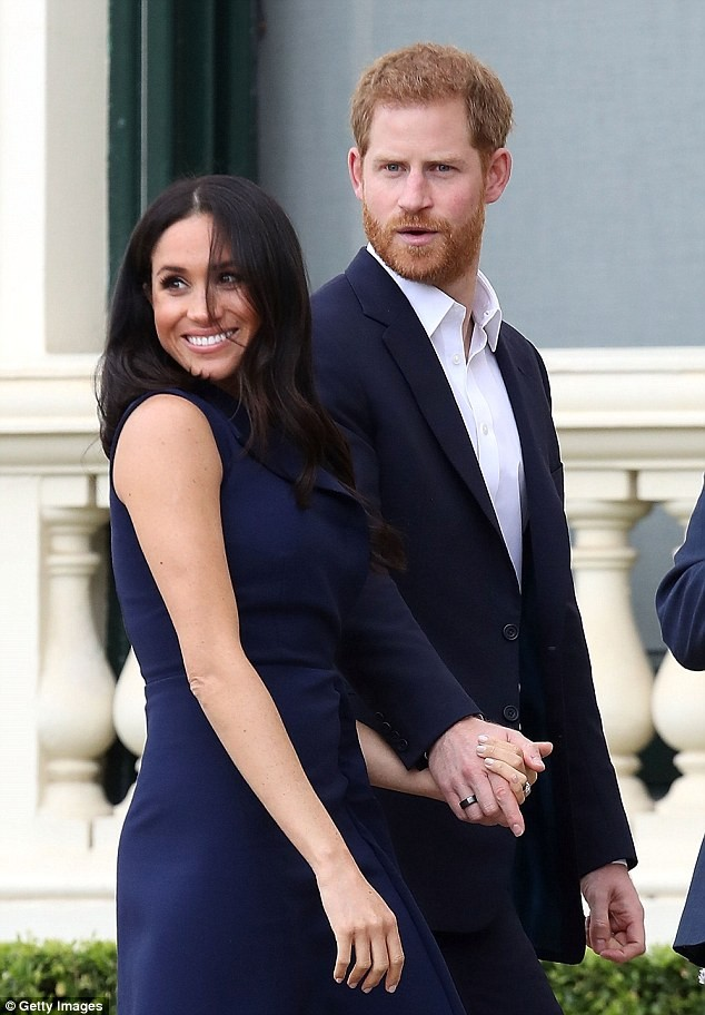 The two lovely outfits Meghan donned as she and Prince Harry took a tour of Melbourne