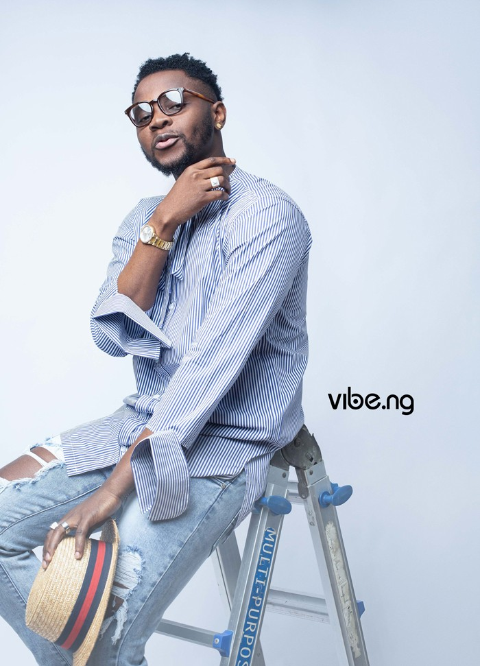 G-Worldwide Ent is a very good place Kizz Daniel says as he covers Vibe.ng magazine