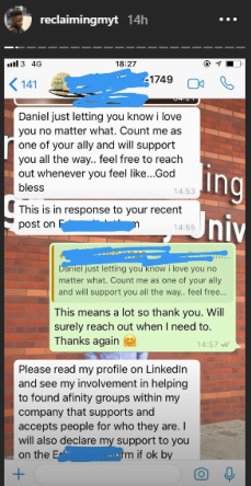 People react as Nigerian first black Student Union president of Bournemouth University, U.K, comes out as gay (screenshots)
