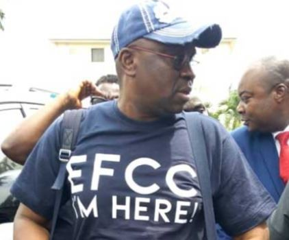 Leaked audio of Governor Fayose telling EFCC operatives he would not write any statement and that he is ready to remain in their custody indefinitely