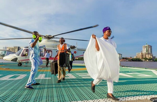 Photo: Check out Governor Rauf Aregbesola