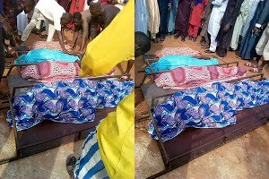 Woman and her 3 children killed in fire outbreak in Niger State(Photos)
