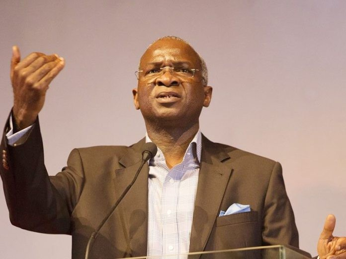 Image result for Electricity problems can't be solved by magic – Fashola