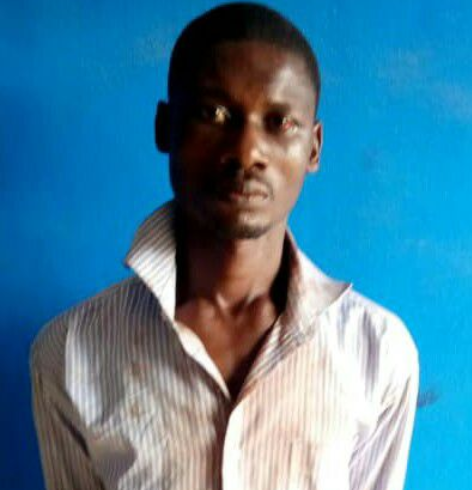 Man blames the devil after being arrested for raping 3-year-old girl