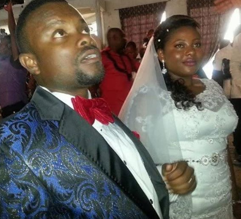 Comic actor, Okon and wife celebrate 5th wedding anniversary