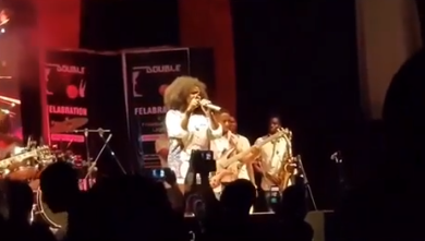 Singer Omawumi shades the two major presidential candidates in the 2019 election (video)