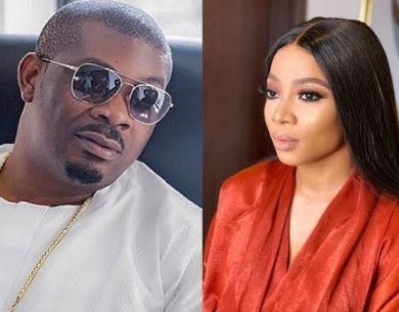 Check out the response Don Jazzy gave to a fan who suggested that he has slept with Toke Makinwa