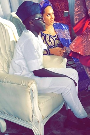 Photos: Tania Omotayo traditionally weds buzzbar co-owner, Sumbo in Lagos