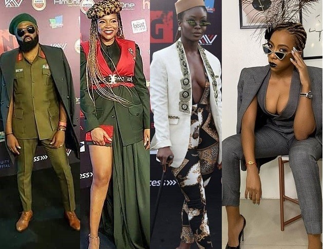 Check out how your favourite celebs turned up for the premiere of Kemi Adetiba's new movie (Photos)