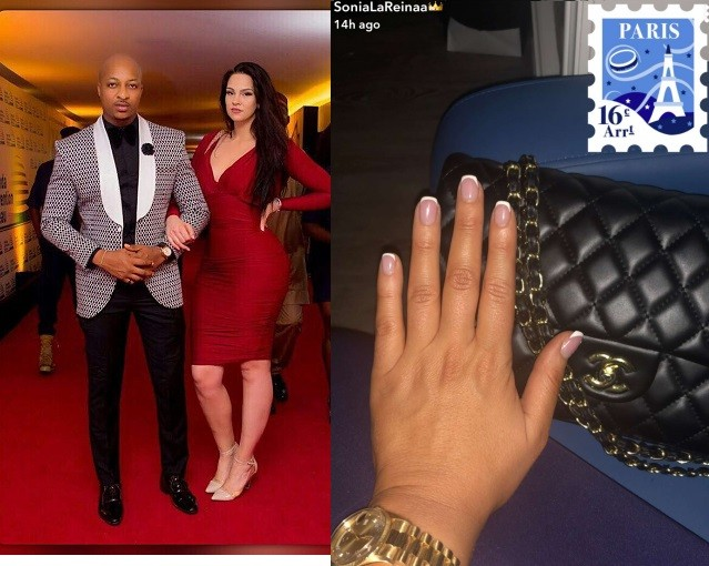 I Ogbonna?s wife, Sonia appears to confirm their marriage is over after flashing ringless finger (Photo)