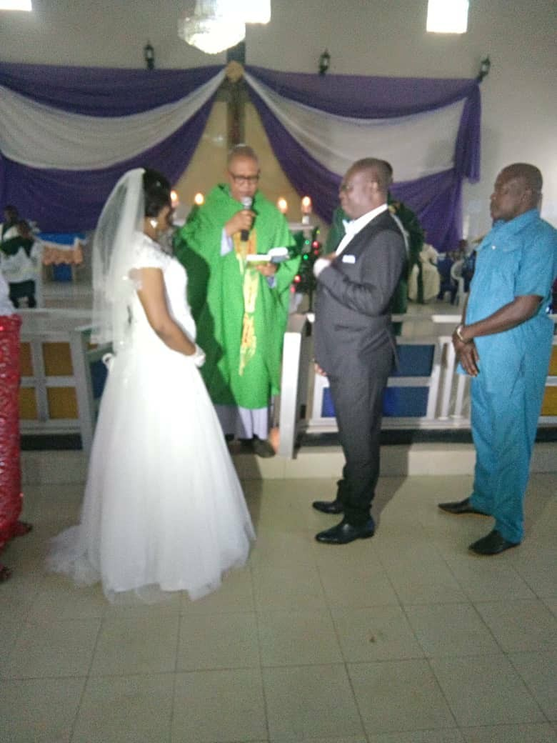 Husband who married two times in the Catholic Church replies after his wife accused him of annulling their marriage to marry another (photos)