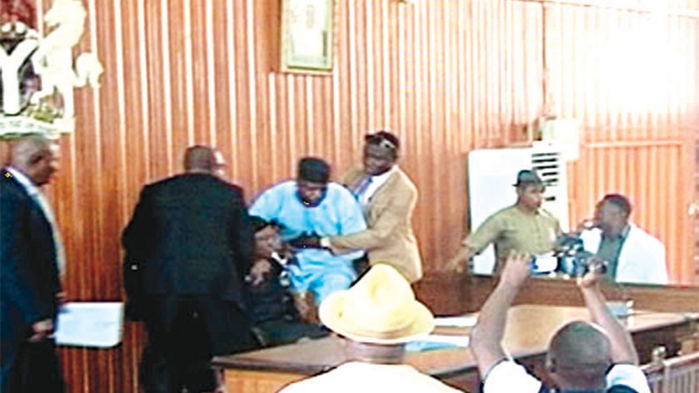 Breaking: Heavy shooting in Edo state House of Assembly