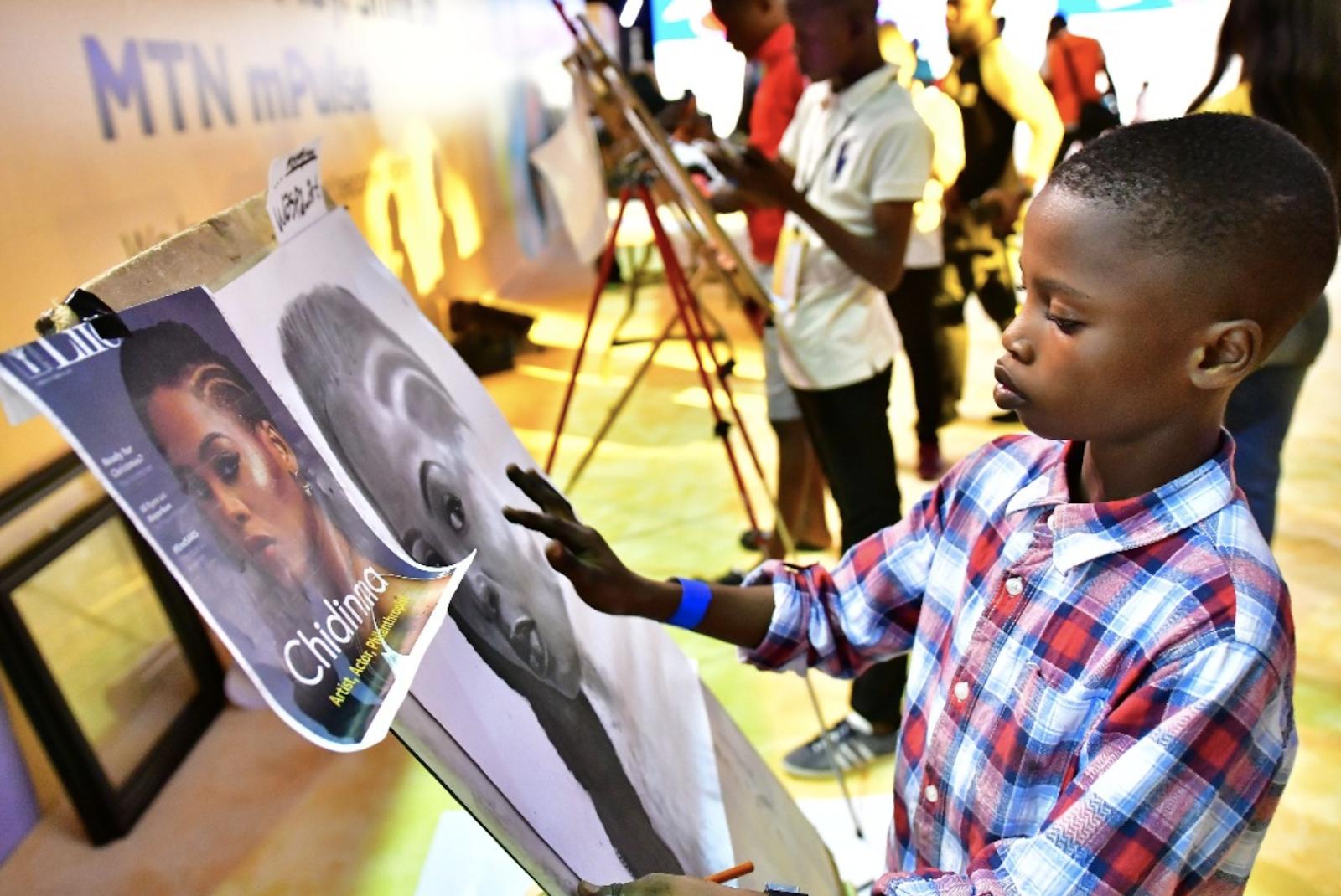 Boy Wonder, Waspa Arts stuns Chidinma at mPulse Planet