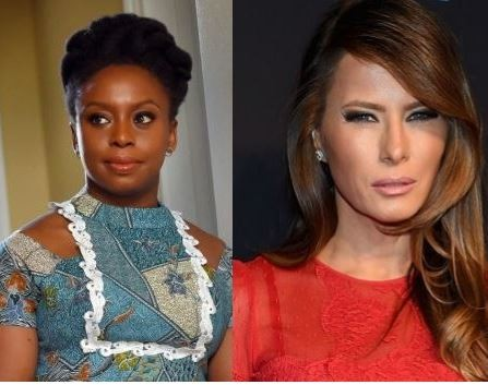 Chimamanda Adichie describes?Melania Trump as