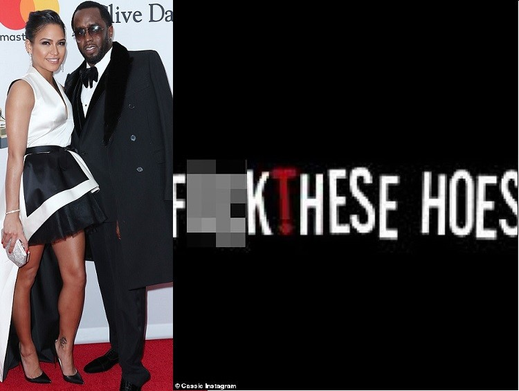 'F*** these hoes' - Cassie breaks her silence after splitting from boyfriend of 11-years Diddy