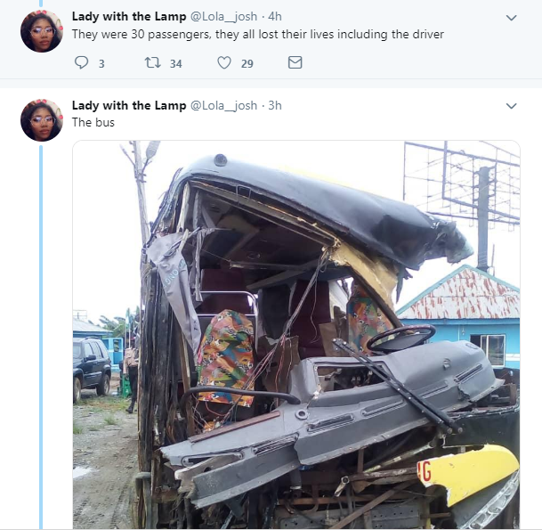 18 NYSC members reportedly die in a fatal accident in Mowe