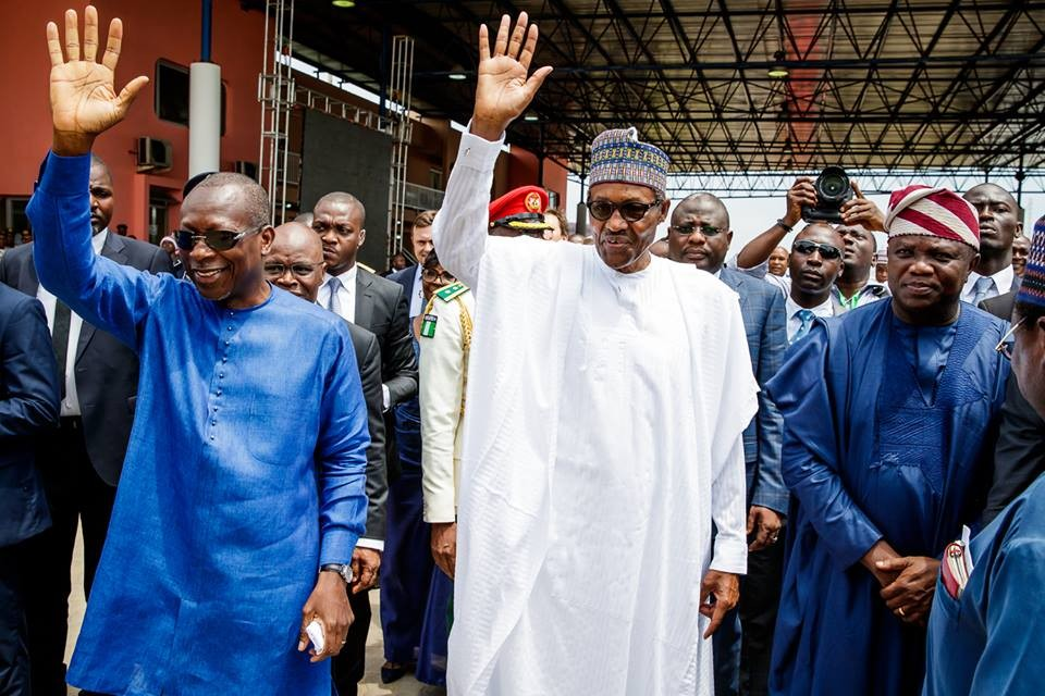 More photos from?President Buhari and President Patrice Talon