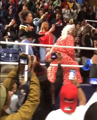 "Students go crazy as ""Madea"" makes a surprise appearance and twerks (video)"