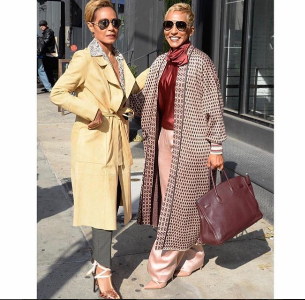 Jada Pinkett Smith and her mom  Adrienne Banfield-Jones, step out in style