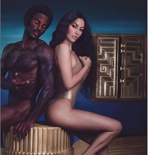 Kim Kardashian slammed by fans for photoshopping her ?Fake? Butt to look ?Smaller? in new photo with naked model
