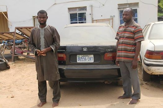 Bauchi Police arrest suspected car thieves