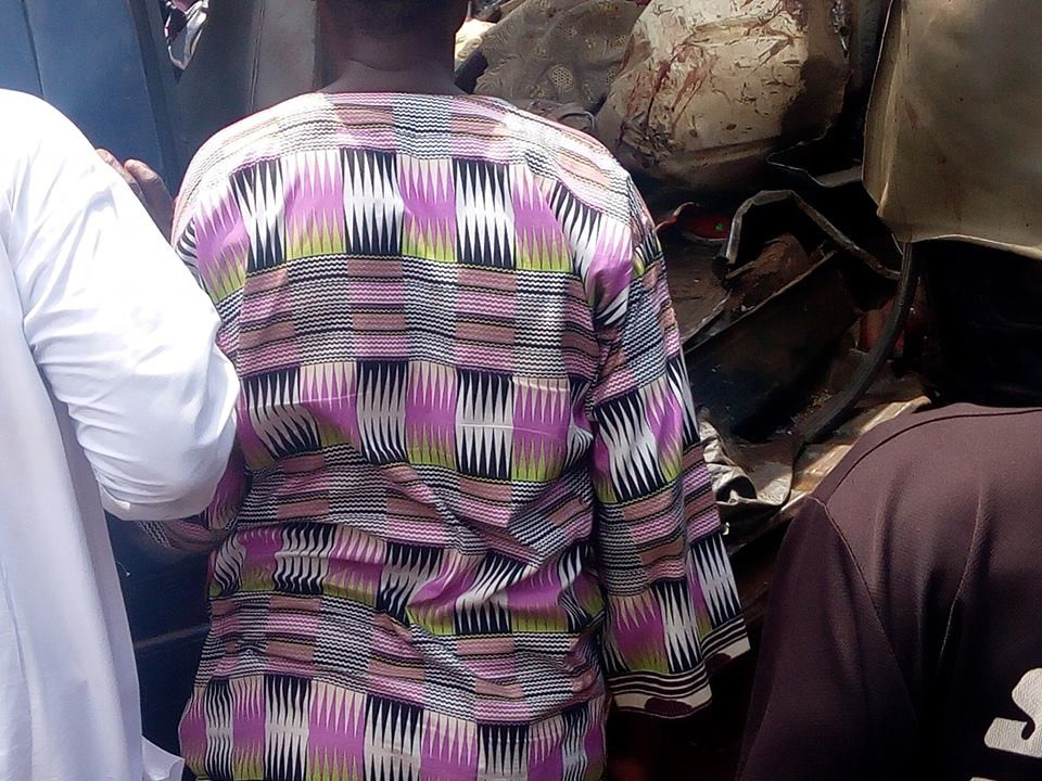 Graphic photos: Scores killed as alleged police extortion causes multiple vehicle accident involving 3 cars, 18 seater bus and a truck in Osun