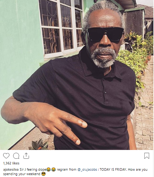 Olu Jacobs shows he