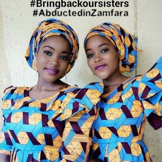 Photos: Gunmen abduct 16-year-old twin sisters in Zamfara two months to their wedding; demands N150m ransom