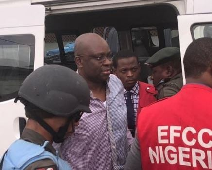Fayose?to spend weekend in prison as he struggled to?meet bail conditions